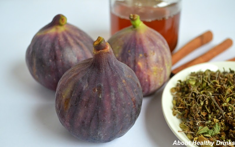 Hot Figs Drink Recipes with Herbs for Winter