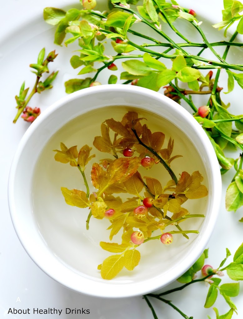 5 healthy spring flower and herbal leaf teas